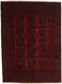 Afghan Χαλι 203X279 Ανατολής Χειροποιητο Σκούρο Καφέ/Σκούρο Κόκκινο (Μαλλί, Αφγανικά)