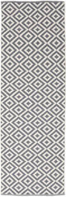 Torun - Γκρι/Neutral Χαλι 80X250 Σύγχρονα Χειροποίητη Ύφανση Χαλι Διαδρομοσ Ανοιχτό Γκρι/Ανοικτό Μωβ (Βαμβάκι, Ινδικά)