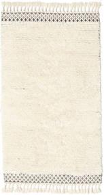 Dixon Χαλι 100X180 Σύγχρονα Χειροποίητη Ύφανση Μπεζ/Λευκό/Κρεμ (Μαλλί, Ινδικά)