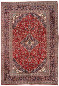 Keshan Χαλι 242X350 Ανατολής Χειροποιητο Σκούρο Κόκκινο/Σκούρο Μωβ (Μαλλί, Περσικά/Ιρανικά)