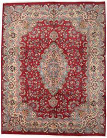Mashad Χαλι 294X374 Ανατολής Χειροποιητο Σκούρο Κόκκινο/Kόκκινα Μεγαλα (Μαλλί, Περσικά/Ιρανικά)