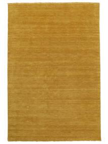 Χειροκίνητου Αργαλειού Fringes - Yellow Χαλι 160X230 Σύγχρονα Πορτοκαλί/Ανοιχτό Καφέ (Μαλλί, Ινδικά)