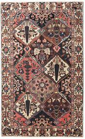 Bakhtiar Πατίνα Χαλι 150X247 Ανατολής Χειροποιητο Σκούρο Καφέ/Σκούρο Κόκκινο (Μαλλί, Περσικά/Ιρανικά)
