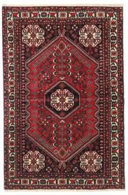 Abadeh Χαλι 100X150 Ανατολής Χειροποιητο Σκούρο Κόκκινο/Μαύρα (Μαλλί, Περσικά/Ιρανικά)