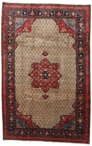 Songhor Χαλι 206X322 Ανατολής Χειροποιητο Ανοιχτό Καφέ/Μαύρα (Μαλλί, Περσικά/Ιρανικά)