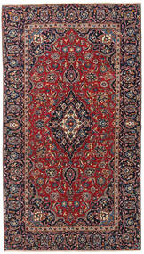 Keshan Πατίνα Χαλι 132X238 Ανατολής Χειροποιητο Σκούρο Κόκκινο/Σκούρο Καφέ/Σκούρο Μωβ (Μαλλί, Περσικά/Ιρανικά)