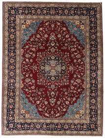 Kashmar Πατίνα Χαλι 254X335 Ανατολής Χειροποιητο Σκούρο Κόκκινο/Σκούρο Καφέ Μεγαλα (Μαλλί, Περσικά/Ιρανικά)