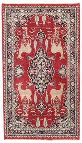 Mashad Πατίνα Χαλι 104X182 Ανατολής Χειροποιητο Kόκκινα/Σκούρο Γκρι (Μαλλί, Περσικά/Ιρανικά)