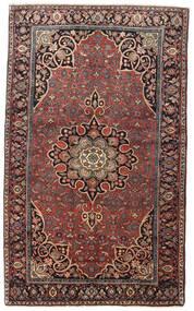 Bidjar Χαλι 129X212 Ανατολής Χειροποιητο Σκούρο Κόκκινο/Σκούρο Καφέ (Μαλλί, Περσικά/Ιρανικά)