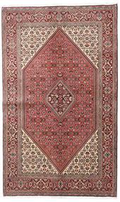 Bidjar Χαλι 138X225 Ανατολής Χειροποιητο Σκούρο Καφέ/Ανοιχτό Ροζ (Μαλλί, Περσικά/Ιρανικά)