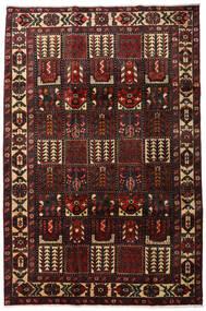 Bakhtiar Χαλι 205X311 Ανατολής Χειροποιητο Σκούρο Καφέ/Σκούρο Κόκκινο (Μαλλί, Περσικά/Ιρανικά)