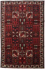 Bakhtiar Χαλι 202X313 Ανατολής Χειροποιητο Σκούρο Καφέ/Σκούρο Κόκκινο (Μαλλί, Περσικά/Ιρανικά)