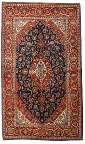 Keshan Χαλι 138X237 Ανατολής Χειροποιητο Σκούρο Καφέ/Σκούρο Μπλε (Μαλλί, Περσικά/Ιρανικά)