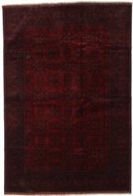 Afghan Khal Mohammadi Χαλι 198X290 Ανατολής Χειροποιητο Σκούρο Καφέ/Σκούρο Κόκκινο (Μαλλί, Αφγανικά)