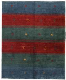 Γκάμπεθ Περσία Χαλι 158X193 Σύγχρονα Χειροποιητο Σκούρο Μπλε/Σκούρο Κόκκινο (Μαλλί, Περσικά/Ιρανικά)