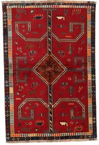 Ghashghai Χαλι 147X222 Ανατολής Χειροποιητο Kόκκινα/Σκούρο Κόκκινο (Μαλλί, Περσικά/Ιρανικά)