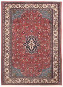 Sarough Χαλι 203X290 Ανατολής Χειροποιητο Σκούρο Κόκκινο/Μπεζ (Μαλλί, Περσικά/Ιρανικά)