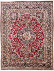Kerman Χαλι 303X391 Ανατολής Χειροποιητο Σκούρο Γκρι/Σκούρο Κόκκινο Μεγαλα (Μαλλί, Περσικά/Ιρανικά)