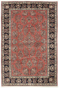 Sarough Χαλι 205X309 Ανατολής Χειροποιητο Σκούρο Κόκκινο/Σκούρο Καφέ (Μαλλί, Περσικά/Ιρανικά)