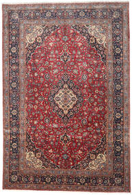 Keshan Χαλι 276X410 Ανατολής Χειροποιητο Σκούρο Κόκκινο/Σκούρο Καφέ Μεγαλα (Μαλλί, Περσικά/Ιρανικά)