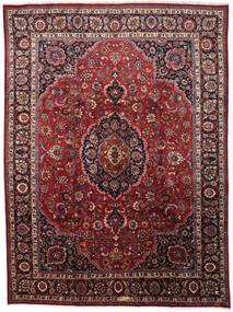Mashad Χαλι 297X402 Ανατολής Χειροποιητο Σκούρο Κόκκινο/Καφέ Μεγαλα (Μαλλί, Περσικά/Ιρανικά)