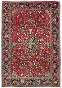 Sarough Χαλι 210X305 Ανατολής Χειροποιητο Σκούρο Κόκκινο/Σκούρο Καφέ (Μαλλί, Περσικά/Ιρανικά)