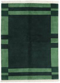 Γκάμπεθ Indo Χαλι 170X230 Σύγχρονα Χειροποιητο Σκούρο Τυρκουάζ/Σκούρο Πράσινο (Μαλλί, Ινδικά)