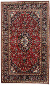 Keshan Χαλι 178X294 Ανατολής Χειροποιητο Σκούρο Κόκκινο/Σκούρο Καφέ (Μαλλί, Περσικά/Ιρανικά)