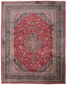 Mashad Χαλι 300X382 Ανατολής Χειροποιητο Μαύρα/Σκούρο Γκρι Μεγαλα (Μαλλί, Περσικά/Ιρανικά)