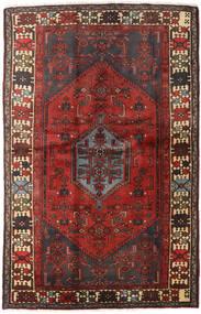 Hamadan Χαλι 127X197 Ανατολής Χειροποιητο Σκούρο Κόκκινο/Σκούρο Καφέ (Μαλλί, Περσικά/Ιρανικά)