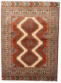 Turkaman Χαλι 125X172 Ανατολής Χειροποιητο Σκούρο Κόκκινο/Σκούρο Καφέ (Μαλλί, Περσικά/Ιρανικά)