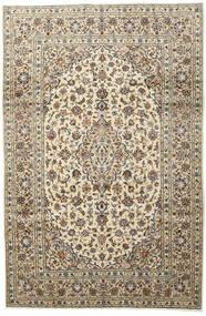 Keshan Χαλι 197X296 Ανατολής Χειροποιητο Ανοιχτό Γκρι/Μπεζ (Μαλλί, Περσικά/Ιρανικά)