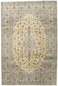 Keshan Χαλι 201X299 Ανατολής Χειροποιητο Σκούρο Μπεζ/Ανοιχτό Γκρι (Μαλλί, Περσικά/Ιρανικά)