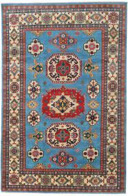 Kazak Χαλι 199X305 Ανατολής Χειροποιητο Σκούρο Κόκκινο/Ανοιχτό Γκρι (Μαλλί, Αφγανικά)