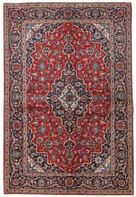 Keshan Χαλι 149X223 Ανατολής Χειροποιητο Σκούρο Κόκκινο/Σκούρο Μωβ (Μαλλί, Περσικά/Ιρανικά)