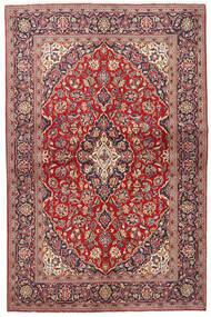 Keshan Χαλι 133X203 Ανατολής Χειροποιητο Σκούρο Κόκκινο/Μπεζ (Μαλλί, Περσικά/Ιρανικά)