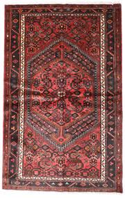 Hamadan Χαλι 124X196 Ανατολής Χειροποιητο Σκούρο Κόκκινο/Μαύρα (Μαλλί, Περσικά/Ιρανικά)