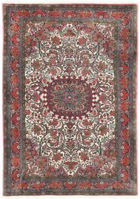 Bidjar Takab/Bukan Χαλι 113X153 Ανατολής Χειροποιητο Σκούρο Γκρι/Σκούρο Κόκκινο (Μαλλί, Περσικά/Ιρανικά)