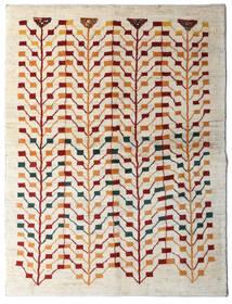 Γκάμπεθ Περσία Χαλι 151X198 Σύγχρονα Χειροποιητο Μπεζ/Ανοιχτό Γκρι (Μαλλί, Περσικά/Ιρανικά)