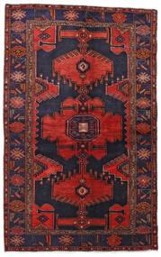 Hamadan Χαλι 132X211 Ανατολής Χειροποιητο Σκούρο Μωβ/Σκούρο Κόκκινο (Μαλλί, Περσικά/Ιρανικά)
