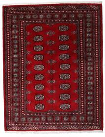 Pakistan Μπουχαρα 3Ply Χαλι 146X188 Ανατολής Χειροποιητο Σκούρο Κόκκινο/Σκούρο Καφέ (Μαλλί, Πακιστανικά)