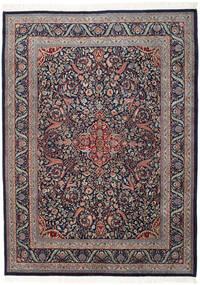 Keshan Indo Χαλι 255X346 Ανατολής Χειροποιητο Σκούρο Μωβ/Σκούρο Γκρι Μεγαλα (Μαλλί, Ινδικά)