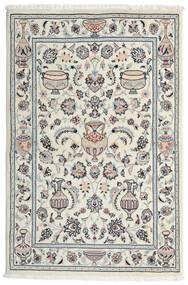 Kashmar Χαλι 101X154 Ανατολής Χειροποιητο Ανοιχτό Γκρι/Λευκό/Κρεμ (Μαλλί, Περσικά/Ιρανικά)