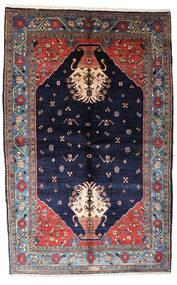 Γκάμπεθ Kashkooli Χαλι 155X246 Σύγχρονα Χειροποιητο Σκούρο Μωβ/Μαύρα (Μαλλί, Περσικά/Ιρανικά)