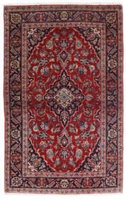 Keshan Χαλι 98X158 Ανατολής Χειροποιητο Σκούρο Κόκκινο/Σκούρο Μπλε (Μαλλί, Περσικά/Ιρανικά)