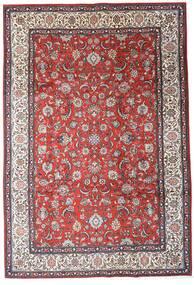 Sarough Χαλι 205X300 Ανατολής Χειροποιητο Σκούρο Καφέ/Σκούρο Κόκκινο (Μαλλί, Περσικά/Ιρανικά)