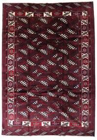 Turkaman Χαλι 213X302 Ανατολής Χειροποιητο Σκούρο Κόκκινο (Μαλλί, Περσικά/Ιρανικά)