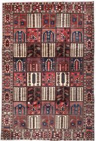 Bakhtiar Χαλι 208X306 Ανατολής Χειροποιητο Σκούρο Καφέ/Σκούρο Κόκκινο (Μαλλί, Περσικά/Ιρανικά)