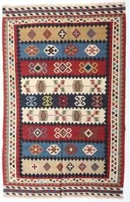 Κιλίμ Βιντάζ Χαλι 153X235 Ανατολής Χειροποίητη Ύφανση Σκούρο Κόκκινο/Σκούρο Μωβ (Μαλλί, Περσικά/Ιρανικά)
