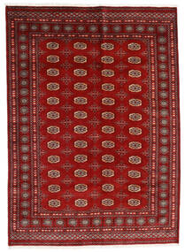 Pakistan Μπουχαρα 3Ply Χαλι 174X240 Ανατολής Χειροποιητο Σκούρο Κόκκινο/Στο Χρώμα Της Σκουριάς (Μαλλί, Πακιστανικά)